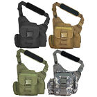 Every Day Carry Tactical Messenger MOLLE Side Sling Shoulder Bag w/Pistol Pocket