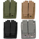 Every Day Carry Tactical Velcro & MOLLE Double Pistol Magazine Pouch