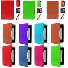 Ultra Slim PU Leather Stand Case for Amazon Kindle Paperwhite+Stylus+Screen FA