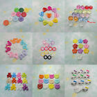 100/400 Plastic Button Heart Round Flower Mickey Bear Kid Sewing Craft