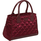 Sachi Insulated Lunch Bags Style 03 Quilted Lunch Tote 2 Colors Travel Cooler