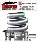 4 in. x 30 ft. Chimney Liner Tee Kit Rock-Flex 316Ti Stainless Steel Liner
