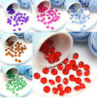 1000/500pcs Acrylic Diamond Wedding Party Table Scatters Decoration 4.5-10mm