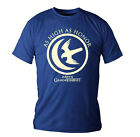 Official T Shirt GAME OF THRONES Logo AS HIGH AS HONOR Blue All Sizes