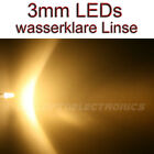 3mm LEDs WARMWEISS 10000 mcd