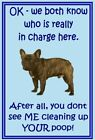French Bulldog Dog fridge magnet - flexible dog fridge magnets