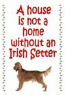 Irish Setter Keyring - novelty chunky dog keyrings - free UK pp