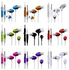 iEAR EARPHONES HEADSET HEADPHONE HANDS FREE EARPIECE MiC fOr T-Mobile Arizona