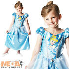Cinderella Girl's Classic Disney Kids Fancy Dress Child Costume Outfit Ages 3-8