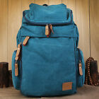 Unisex Canvas Casual Sports Rucksack Bookbag Backpack Hiking Camping Bag FB287