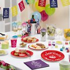 KEEP CALM & Party! Tableware & Decorations - 60th, 70th, 80th Birthday Ideas