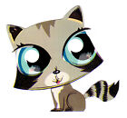 "2"" LITTLEST PET SHOP RACCOON  CHARACTER PEEL STICK WALL BORDER CUT OUT"