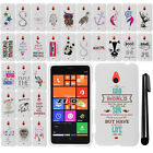 For Nokia Lumia 1320 Batman Cute Design PATTERN HARD Case Phone Cover + Pen