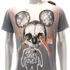m301o Minute Mirth T-shirt M L Tattoo VTG LIMITED EDITION Monster Mouse Rat dgk