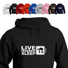 Sci Fi Fan Star war ATAX Walker Gift Hoodie Eat Live Breathe Sleep Sci Fi