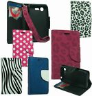 For LG Optimus Zone 2 VS415PP/FUEL L34C Cover Design Wallet ID Pouch Stand Case
