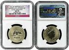 2012 P Australian Citizenship Dollar NGC MS70 Early Releases Flag Label