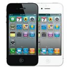 Apple iPhone 4 16GB Verizon Wireless WiFi Black and White Smartphone