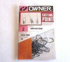NIP OWNER DOWN SHOT OFFSET 5333 PRO PACK CUTTING POINT HOOK 2 1/0 3/0