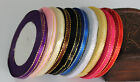 25 Yards 5mm Multicolor Satin Ribbon Craft Bow Wedding Party Supply