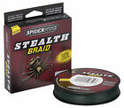 Spiderwire STEALTH Moss Green Fishing Braid - 150YDS / 137M - All Sizes