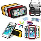 Aluminum Gorilla Glass Metal Cover Case For iPhone 4S Water Resistant Shockproof