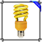 2 X 13W LOW ENERGY SAVING COLOUR PARTY BULBS LARGE EDISON SCREW CAP ES E27 - NEW