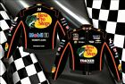 2013 Tony Stewart Bass Pro Shops NASCAR Jacket Coat Adult Mens Size L 2XL NEW