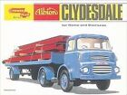 NEW ALBION CLYDESDALE TRUCK METAL SIGN WALL HANGING PICTURE VINTAGE STYLE LORRY