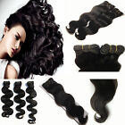 NEW Remy Human Hair Extension Brazilian Body Wave Weft Bundle Natural Black 100g