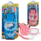 Junior Snorkel, Mask & Fin Scuba Swimming Diving Snorkelling Holiday Kids Set