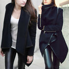Fashion New Women's Slim Winter Warm Coat Long Wool Jacket Outwear Parka S-XXXL