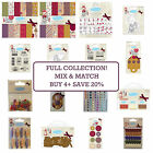 ME TO YOU Tatty Teddy Full Christmas Craft Trimcraft Collection