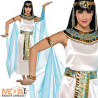 Cleopatra Egyptian Queen Womens Fancy Dress Ladies Adult Costume Outfit UK 8-16