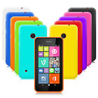 10 PACK SILICONE GEL CASE SKIN COVER FOR NOKIA LUMIA 530 BLACK PURPLE RED BLUE