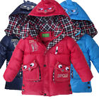 Winter Kids Outerwear 3-6Y Boys Girls Clothes Coat Owl Down Jacket BC24