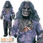 Boys Complete Zombie + Mask With Wig Kids Halloween Fancy Dress Horror Costume