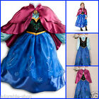 Purples Anna Elsa Queen Princess outfit Girls COSTUME Dresses SIZE 3 4 5 6 7 8Y