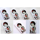 Punk Disney Rockabilly Snow White tattoo Case Cover For iPhone Samsung Galaxy