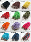 10 Organza Voile Ribbon Necklace Silk Cord Clasp 11Colors-1 Or Mixed 45cm+5cm