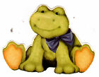 """3-5.5"""" FROG TOAD  NURSERY PEEL & STICK  WALL BORDER CUT OUT CHARACTER STICKER"""