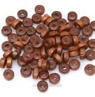 Wholesale Rondelle Chram Wood Spacer Beads Loose Wood Beads 6mm Jewelry Finding