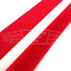 20mm, RED VELCRO SEW ON HOOK AND LOOP CRAFT SEWING CLOTHES