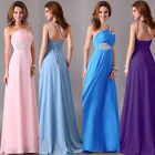 NEW STOCKLong Chiffon Evening Formal Party Ball Gown Prom Bridesmaid Dress New