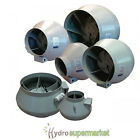 """SYSTEM AIR RVK EXTRACTOR FANS 4"""" 5"""" 6"""" 8"""" 10"""" 12"""" - 100-315MM - HYDROPONICS"""
