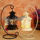 Creative Iron Moroccan Candlestick holder Candle Stand Light Holder Lantern Y