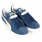 Puma Unisex Suede Classic Lace Up Trainer Ensign Blue / White