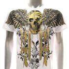 a5w Artful T-shirt M L XL  XXL Tattoo Skull Ghost Angel Demon Street Gangster