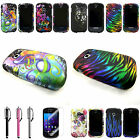 For Samsung Galaxy Centura S738C S730G Snap On Image Slim Design Case Cover