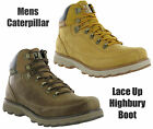 New Mens CAT Caterpillar Highbury Leather Ankle Walking Chukka Boots Size 7-12